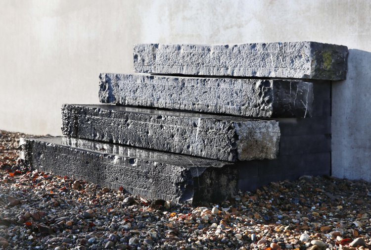 Reclaimed Bluestone Steps
