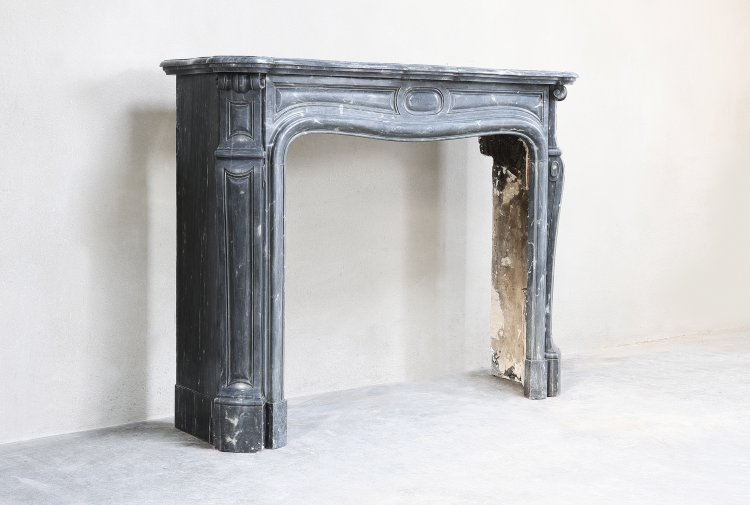 old french mantel piece