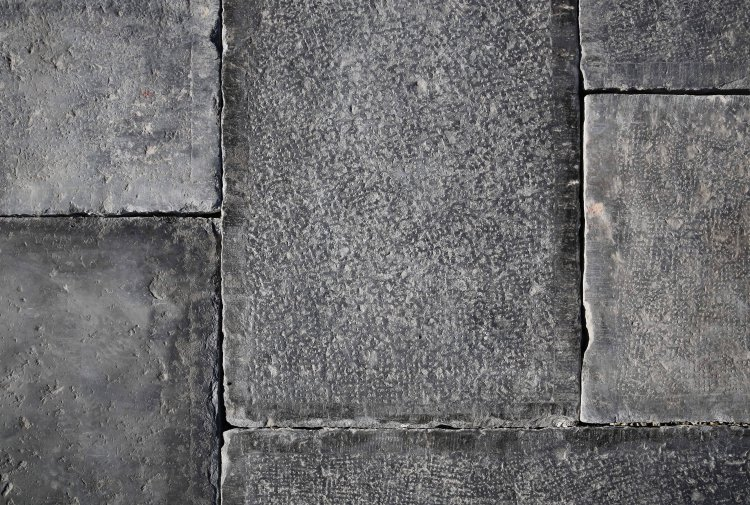 antique belgian bluestone flooring