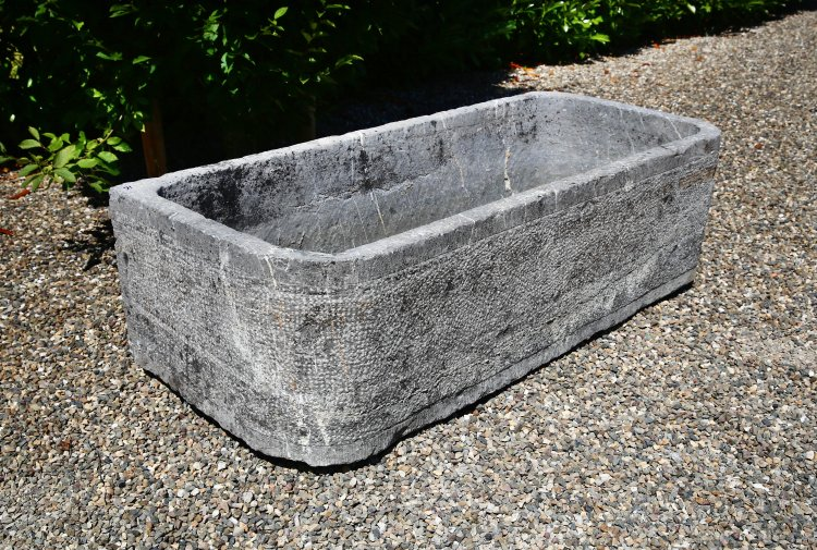 old trough from France