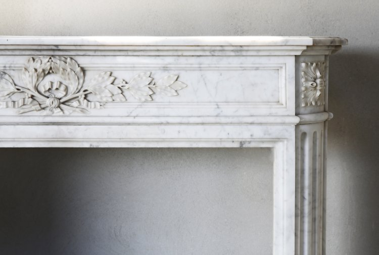 Louis XVI fireplace