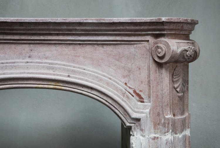 Louis XV mantel piece from France