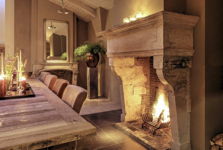 showroom Made antique fireplaces