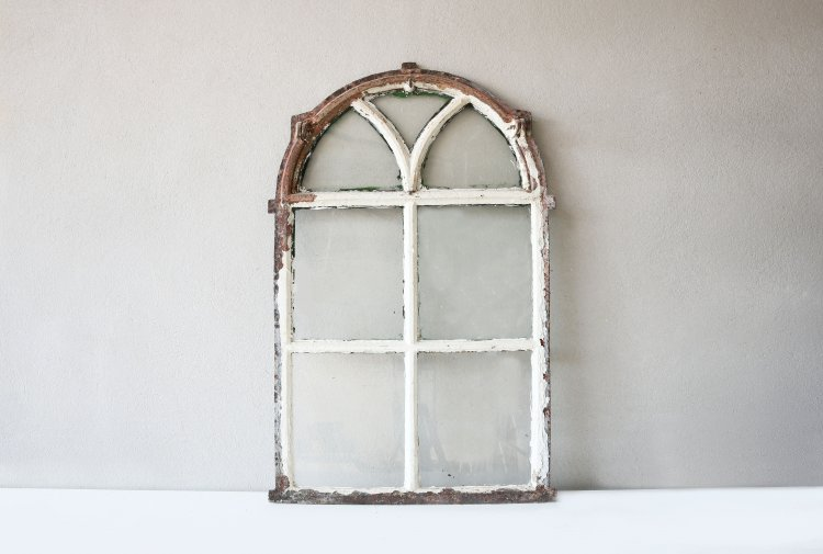 reclaimed cast iron window