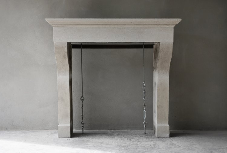 Campagnarde fireplace