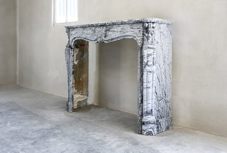 antique marble mantelpiece
