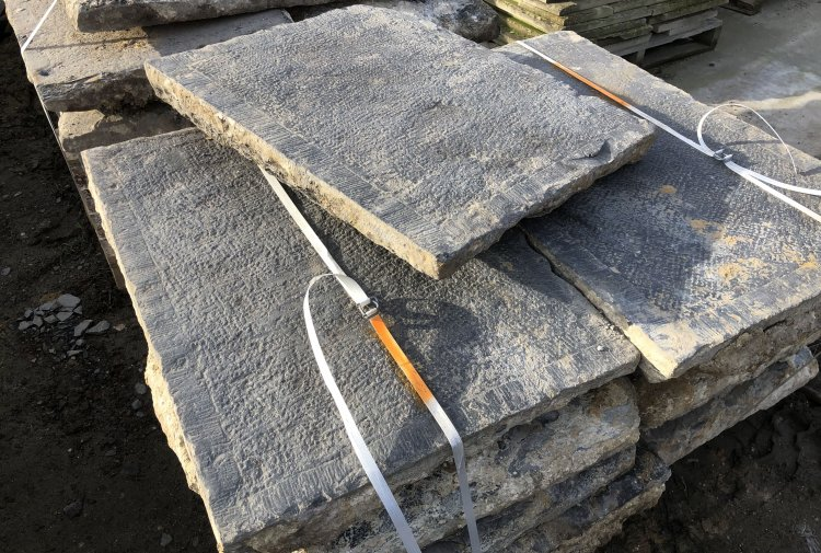 old bluestone slabs
