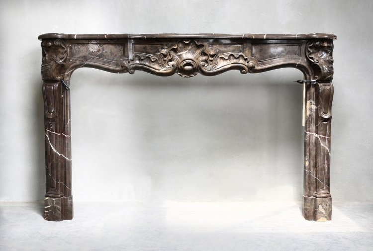 antique french mantel piece
