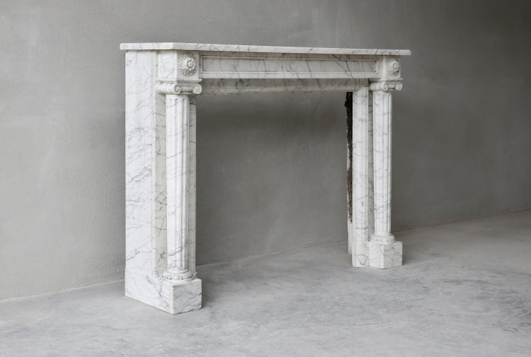 old french mantel of the 19th century