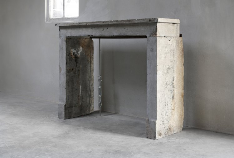 antique 19th century fireplace