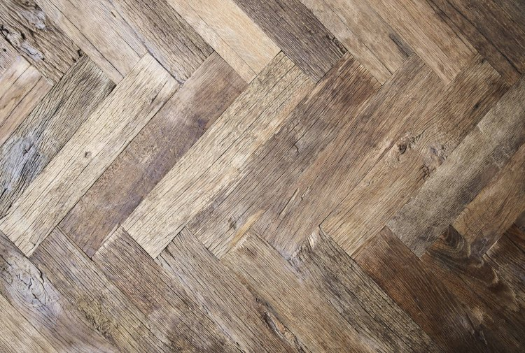 old oak flooring