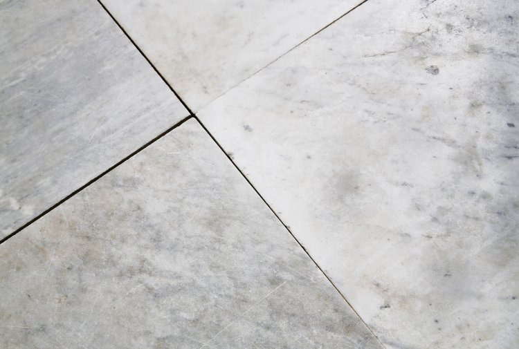 old carrara marble floor from Italy