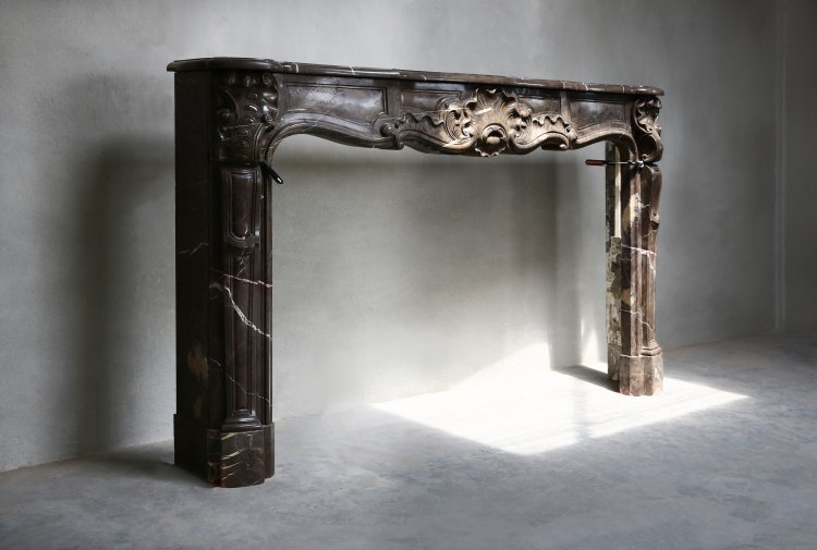 Louis XV fireplace