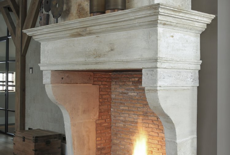 19th century fireplace