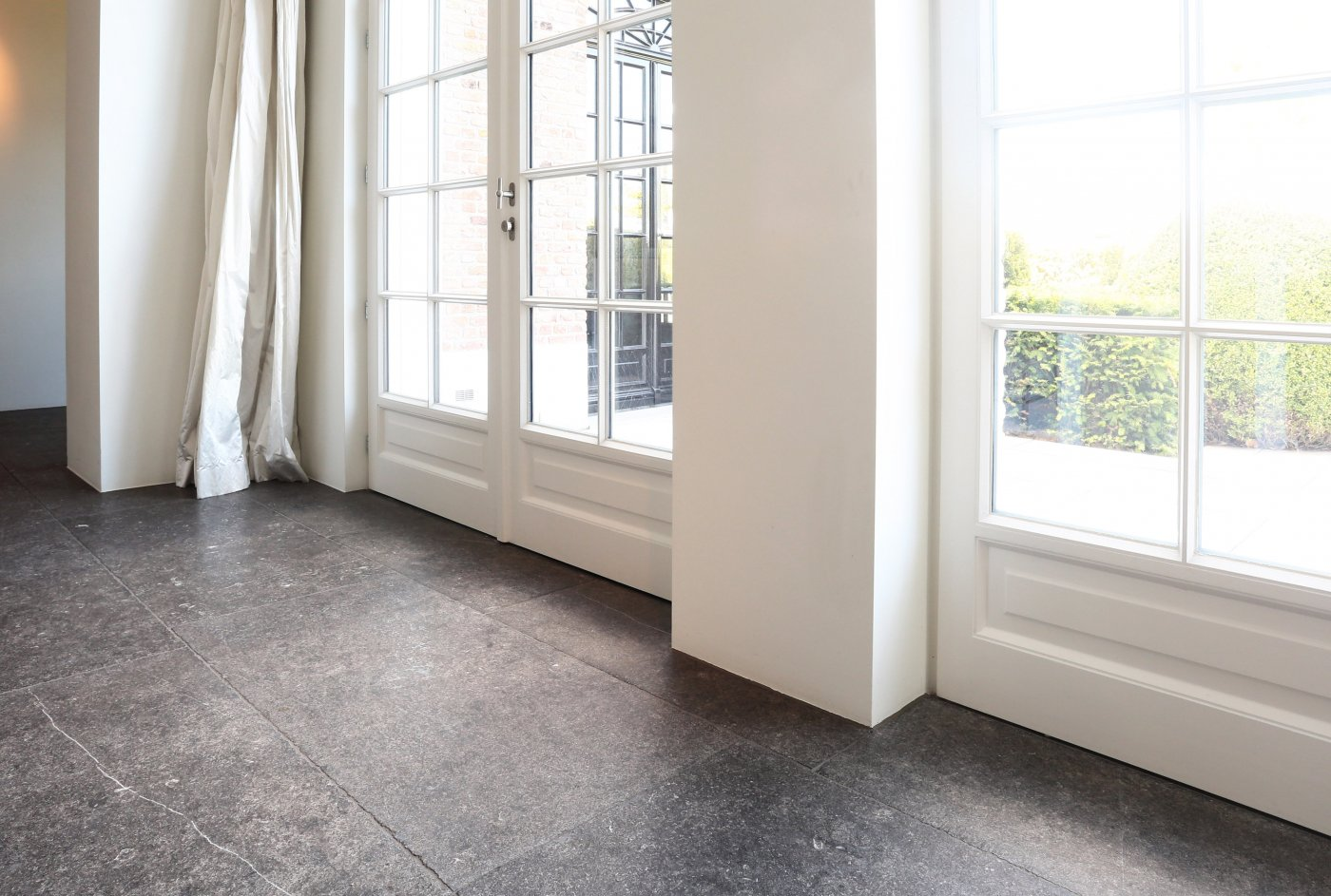 Bluestone floor ref n53 belgian bluestone stone flooring our floor lauthentique is a natural stone floor of belgian bluestone that we age completely manually we work the bluestone floor tiles with different dailygadgetfo Gallery