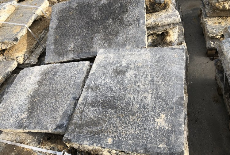 Old slabs of bluestone