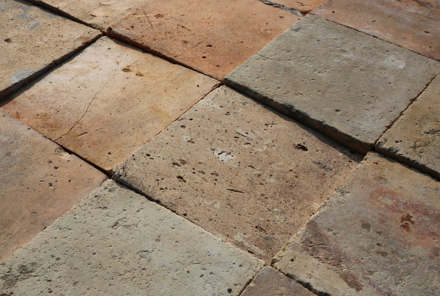 Antique French Tiles Ref T04 Reclaimed French Terracotta Tiles