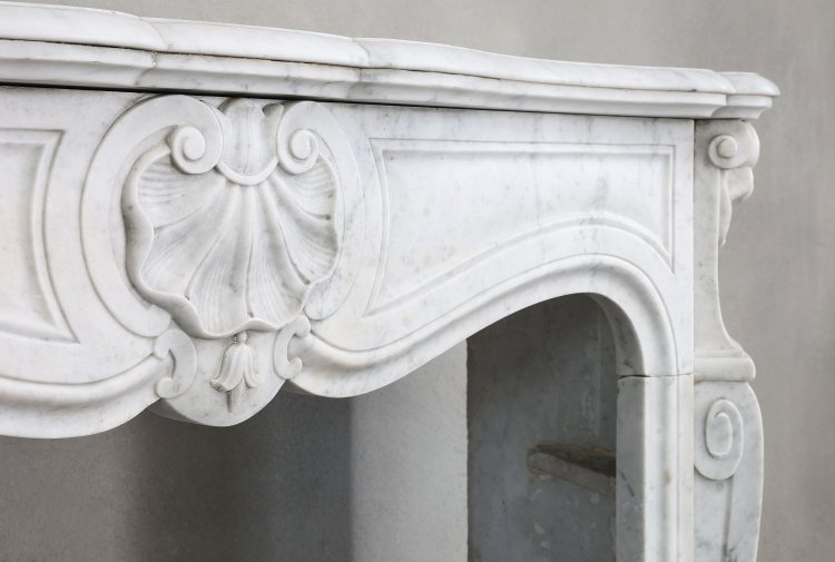 19th century mantel piece