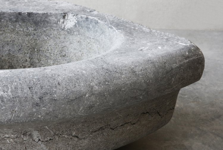 old belgian bluestone sink